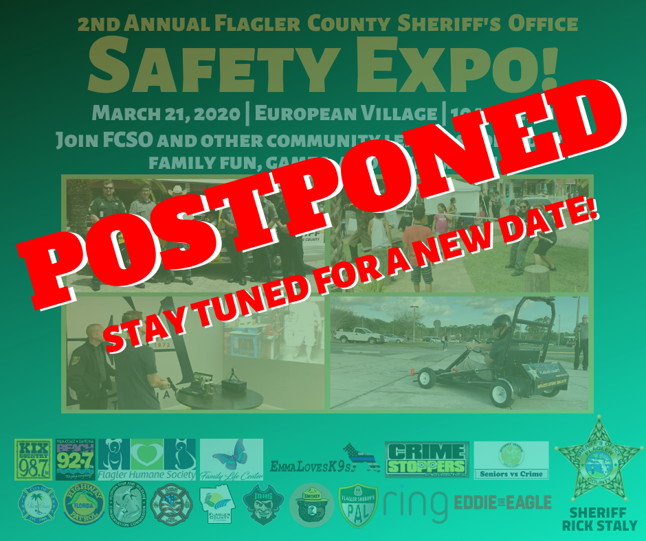 FCSO Safety Expo POSTPONED