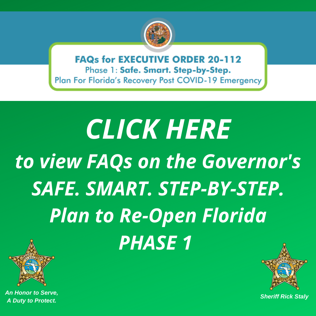 FAQs on Governor's Plan to Re-Open Florida