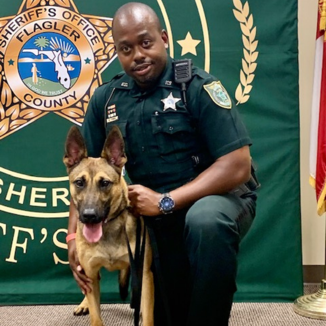 Deputy Towns and K-9 Keanu -