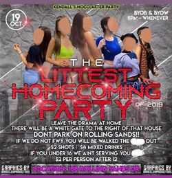 FCSO Shuts Down Homecoming After Party