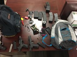 Crime Spree of Car Burglaries, Stolen Guns and Cars Solved by Deputies, Two Subjects Arrested