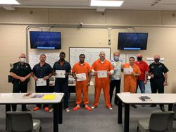 5 FCSO Inmates Graduate the First Class of the 'InsideOut Dad' Program