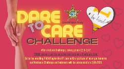 Sheriff Encourages Flagler Residents to Take Part in 'Dare to Care' Challenge Celebrating National Random Act of Kindness Day