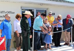 Sheriff Renames District 1 Office and Marine Unit in Honor of Captain Grady Prather Jr.