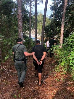Four Arrested After Fleeing in Stolen Vehicle, Hiding in the Woods