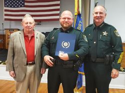 FCSO Deputy Awarded 'Officer of the Year' by the American Legion