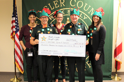 FCSO Employees Donate over $19,000 to Support 13th Annual Christmas with a Deputy Event