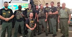 FCSO Helps Recovery Efforts in Panhandle