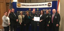 Flagler County Sheriff's Communications Center Receives Re-Accreditation
