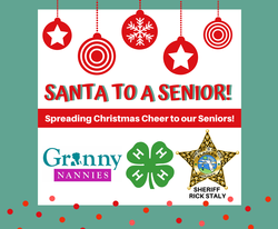 FCSO Partners with Granny Nannies, Flagler 4-H to Bring Santa to Our Seniors